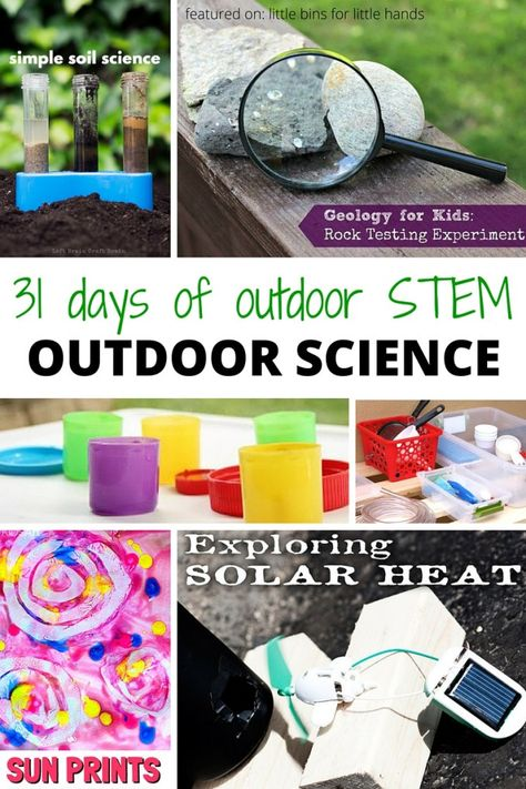 Outdoor Science Activities for Kids