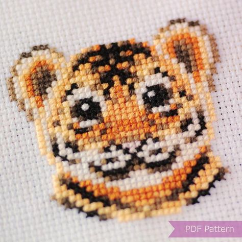 Hand Embroidery Designs, Diy Embroidery, Cross Stitch Embroidery, Embroidery Patterns, Cross Stitch Baby, Cross Stitch Animals, Crochet Cross, Cross Stitch Designs, Modern Cross Stitch Patterns