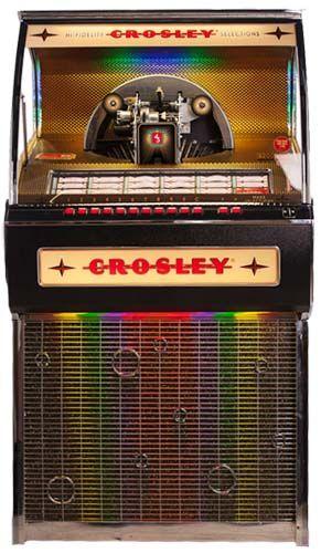 Crosley Rocket Vinyl Jukebox