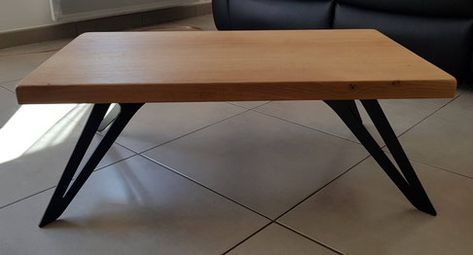 Le Pied De Table Basse Metal Design Made In France Pied Table