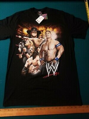 2008 VTG WWE WWF John Cena Undertaker HHH Edge SIZE XLarge XL New with Tags NWT #fashion #clothing #shoes #accessories #specialty #vintage (ebay link)