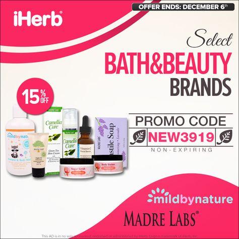 bubbles iHerb.com Select Bath&Body...