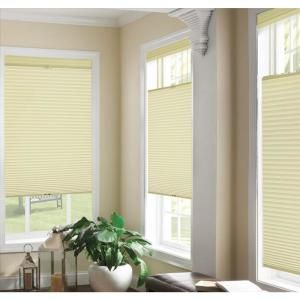 Top Down Bottom Up Ivory Cordless Cellular Shade 32 In W X 64 In L 14003 The Home Depot Cellular Shades Cordless Cellular Shades Home Decorators Collection