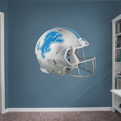 4cad0f06 Detroit Lions: Stacked Personalized Name - Giant NFL Transfer Decal ...