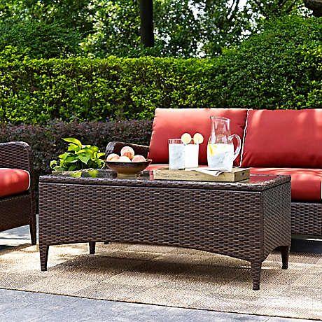 Crosley Kiawah Patio Furniture Collection Bed Bath Beyond