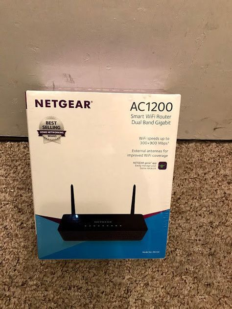 NETGEAR AC1200 Smart Wi Fi Router with