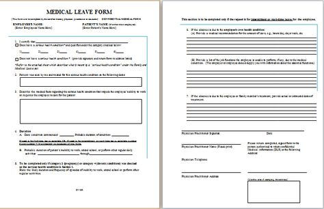 Job leave medical form at http\/\/wwwbestmedicalforms\/job - consumer complaint form