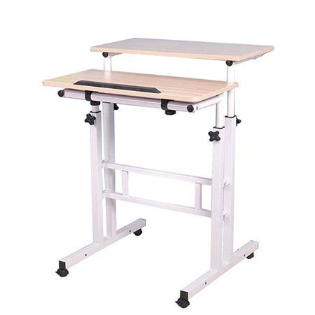 Home Home Office Computer Desk Rolling Desk Computer Stand For