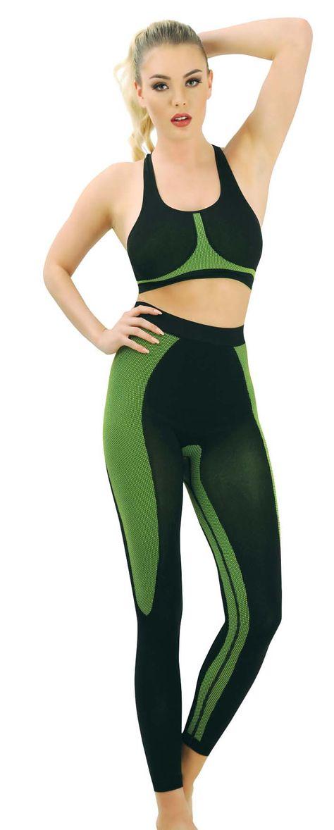 b52babd80c6 Дамски фитнес комплект бюстие и клин, спортно облекло за жени- www.Kapriz.eu