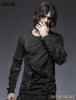 f4ed5f569c55 Look gótico casual para hombres |+30 Propuestas para vestir gótico ...