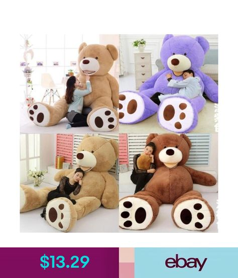 ONLY COVER 80-340CM Giant Large Big USA Teddy Bear Plush Soft Toys doll Gift
