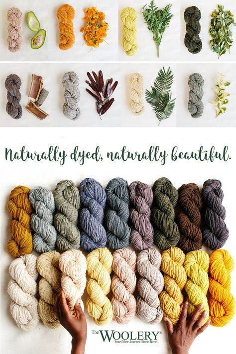 Certified organic wool yarn is hand spun and dyed in Rwanda by the ladies of Handspun Hope. Tie Dye Crafts, Yarn Crafts, Spinning Yarn, Hand Spinning, Wool Yarn, Knitting Yarn, Natural Dye Fabric, Natural Dyeing, Creation Couture