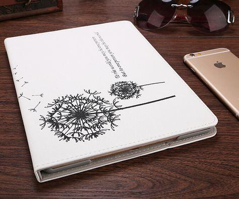 NEW Ultra-thin Dandelion iPad Smart Cover Stand Case for 7.9-inch iPad Mini iPad air 2, iPad 2/3/4 - iPad Air 2 Cases - iPad Cases