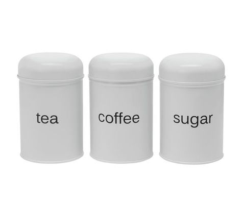 Buy Collection 3 Piece Kitchen Storage Set White Domed At