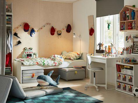Matras 90x190 Ikea : Inspiration fürs kinderzimmer in ikea kinderwelt Спальня
