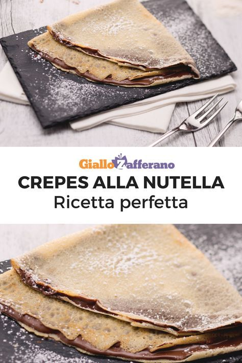 Crepes Dolci Ricette