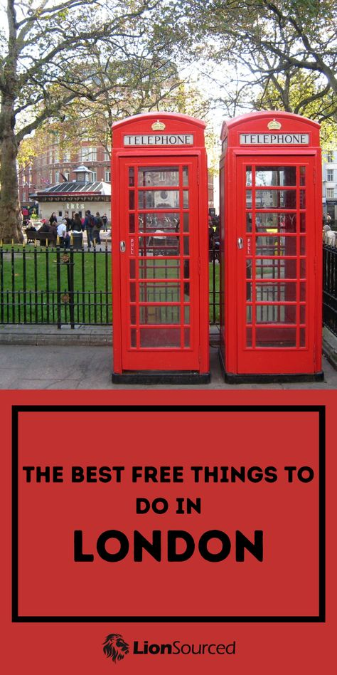 Best Free Things To Do In London