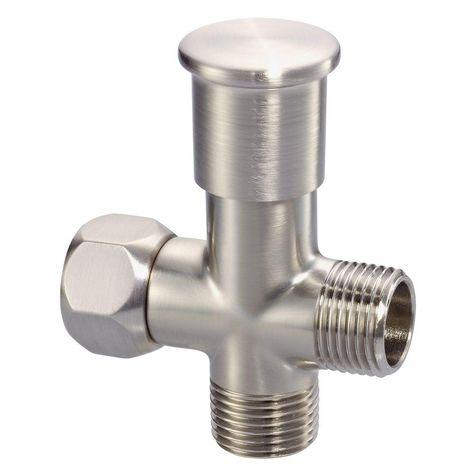 Danze Push Pull Shower Arm Diverter In Brushed Nickel Shower Arm