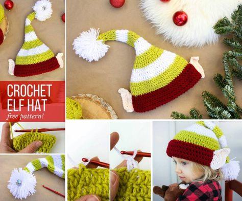 40 Free Crochet Animal Hat Patterns | Christmas 2018 | Pinterest ...