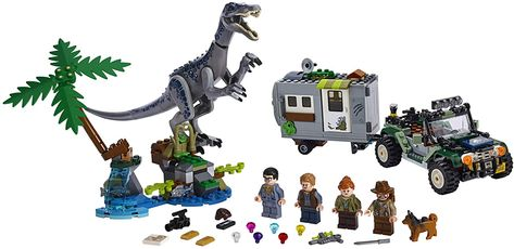 LEGO Jurassic World Baryonyx Face-Off The Treasure Hunt