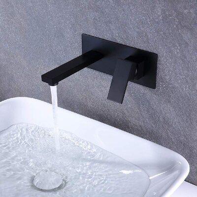 Taifond Wall Mounted Bathroom Faucet, Wall Mounted Faucet Bathroom