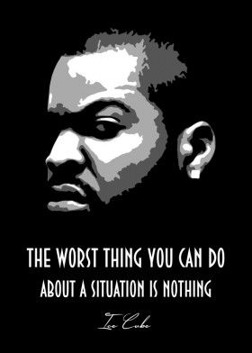 Ice Cube V2 0 Poster Print By Bgw Beegeedoubleyou Displate In 2020 Rapper Quotes Rap Quotes Gangsta Quotes
