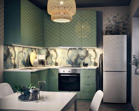 Nice IKEA K chen Die sch nsten Ideen und Bilder f r eine IKEA K chenplanung Small spaces Spaces and Kitchens