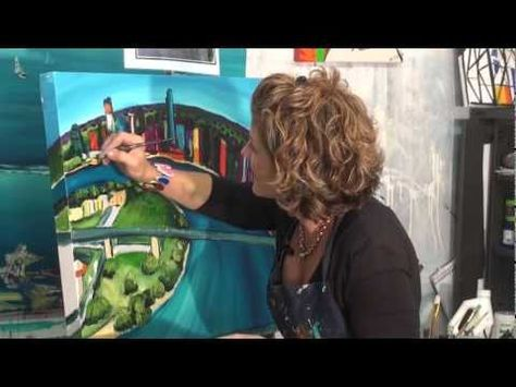 Free Art Lessons Kylie Farrelly - YouTube