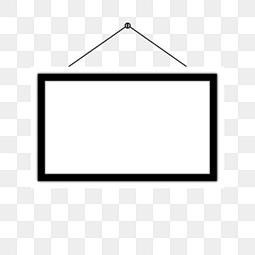 Realistic Black And White Photo Frame Icon With Transparent Background Rectangle Clipart Photo Frame Border Frame Png And Vector With Transparent Background White Photo Frames Transparent Background Free Doodles