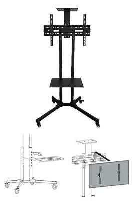 Onn Rolling Tv Stand For 32 70 Tvs Holds Rolling Tv Stand Tv Stand Home Decor