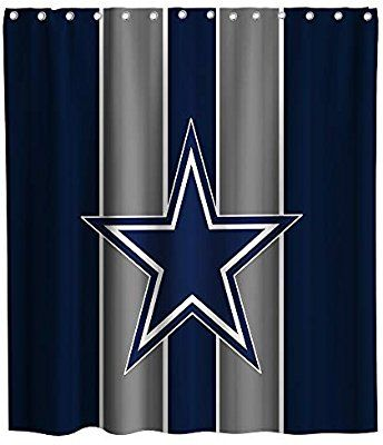Amazon Com Lifeasy Custom American Dallas Cowboys Shower Curtain
