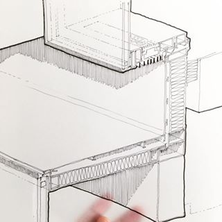Projecting Window Boxes With A Ventilation System Through The