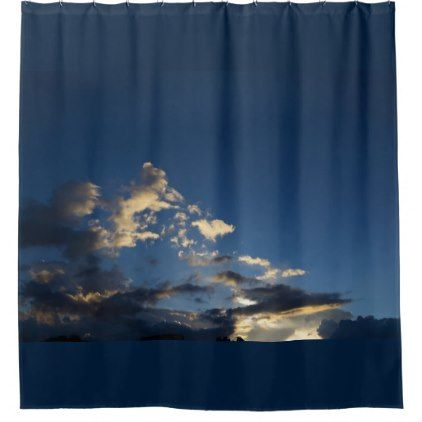 Sky And Clouds Shower Curtain Zazzle Com Sky And Clouds