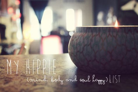 My Hippie Happy List - natural recipes, remedies and more
