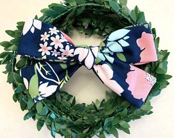 baby bows summer bow newborn bows pinwheel fabric bow Sunflower hand tied bow nylon Sunflower bow toddler bows