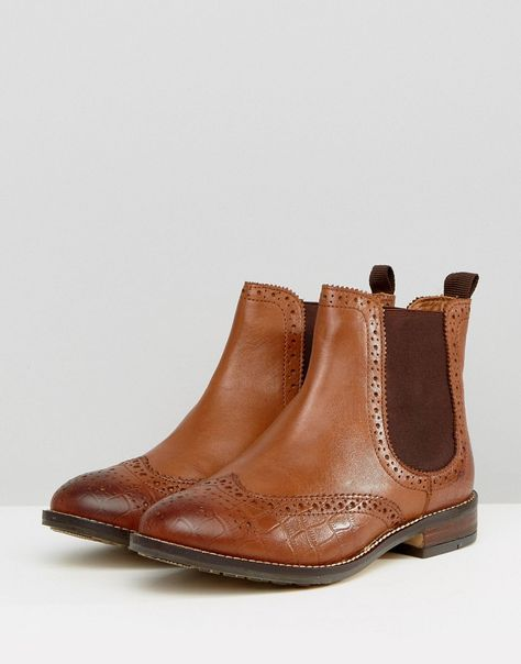 Dune London Wide Fit Quentons Leather
