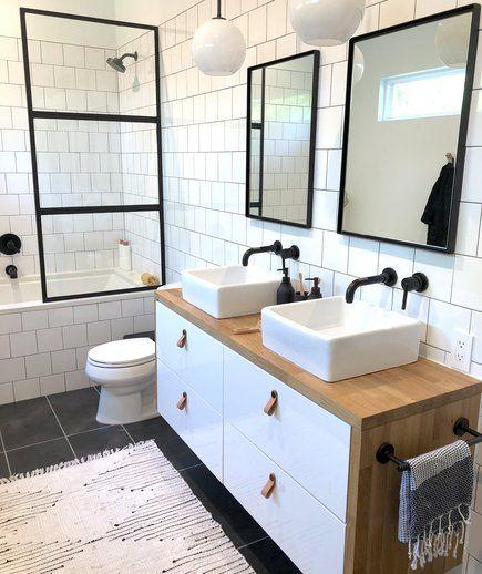 4 Money Saving Renovation Hacks One Design Blogger Swears By Bathrooms Remodel Kitchen Bathroom Remodel Shower Remodel