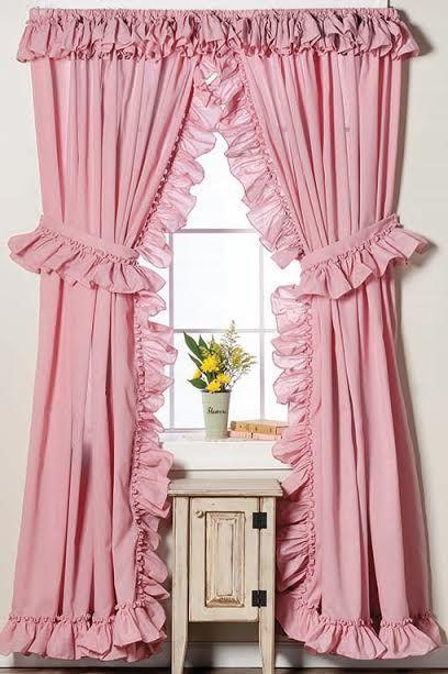 SHEIN Leopard Ruffle Hem Pajama Set | Pink Shop