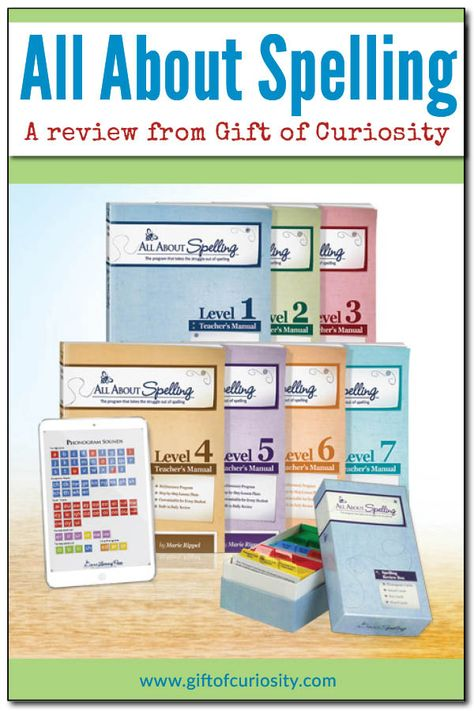 Review of the All About Spelling curriculum from All About Learning Press. Our thoughts after using the program for one year. #AllAboutSpelling #giftofcuriosity || Gift of Curiosity