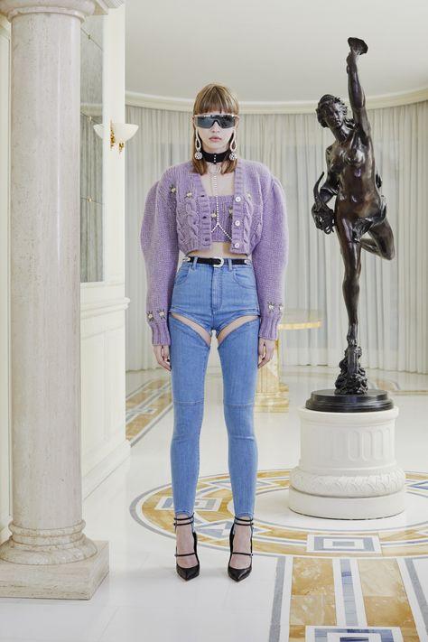 Alessandra Rich Herbst 2019 Ready-to-Wear-Kollektion – Vogue