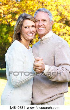 Seniors Couple Stock Image Older Couple Poses Couple