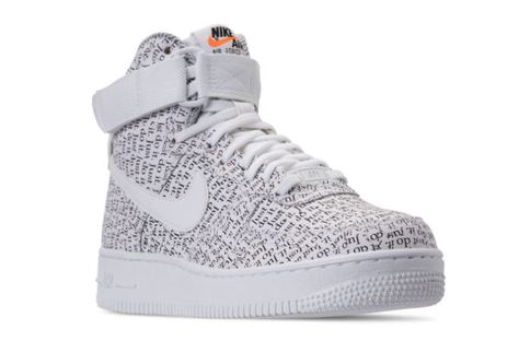 Inmoralidad Elástico cantidad  The Nike Air Force 1 High Joins The Upcoming Just Do It Collection ...