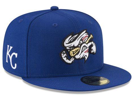 buy popular 9d29d 4362b Omaha Storm Chasers New Era MiLB x MLB 59FIFTY Cap