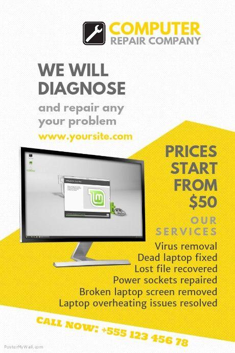 Best Of Puter Repair Flyer Templates Flyer Template Computer Repair Business Flyer Templates