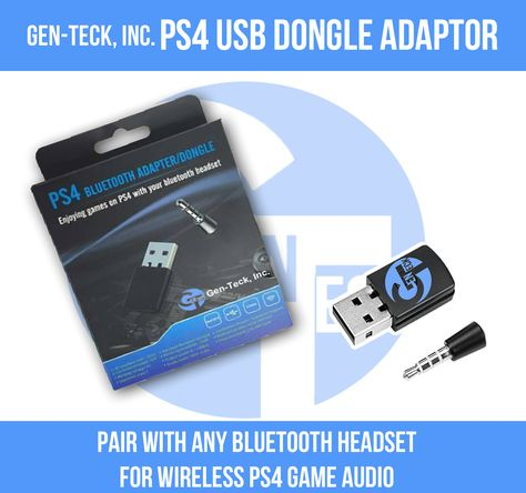 The Best Ps4 Usb Dongle Adaptor No More Wires Enjoy All Your Favourite Ps4 Games Wirelessly Http Www Amazon Com Ps4 Usb Bluetooth Bluetooth Headset