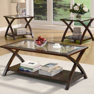 Complete Your Home Seating Ensemble In Refined And Traditional Style With This Elegant Coffee Table End Table Set Living Room Table Sets Coffee Tables For Sale Piece living room table set