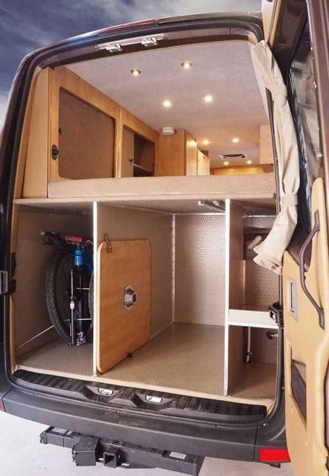 60 Sprinter 4x4 Camper Van Conversion Platform Bed Upgrades