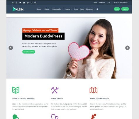 WordPress temaer for dating sites
