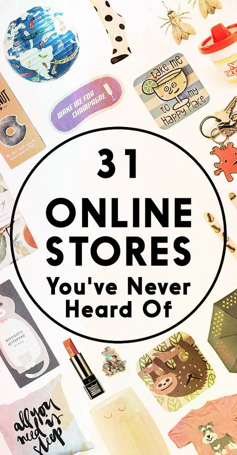 30 Amazing Online Stores You've Never Heard Of