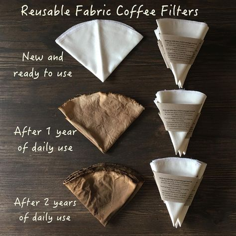 18 Charts To Help You Start Living More Sustainably - reusable coffee filters Reusable Coffee Filter, No Waste, Reduce Reuse Recycle, Eco Friendly House, Eco Friendly Cars, Sustainable Living, Sustainable Products, Eco Friendly Products, Sustainable Ideas